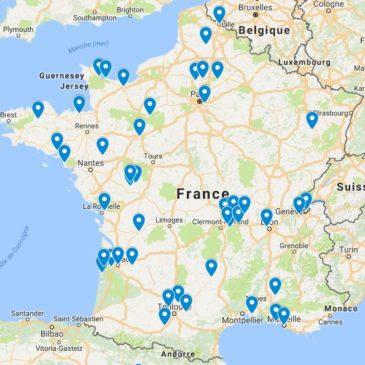 La France des physio-massothérapeutes équins !